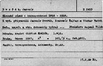 Slezské písně v korespondenci 1898-1918