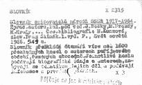 Slovník spisovatelů národů SSSR