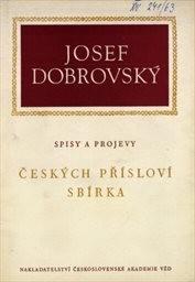 Českých přísloví sbírka