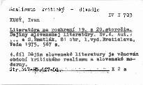 Literatúra na rozhraní 19. a 20. storočia