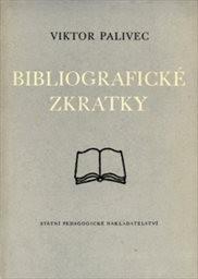 Bibliografické zkratky