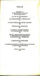 Výbor z filozofických spisů.