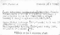Česká literární bibliografie 1945-1963                         (Díl 2)