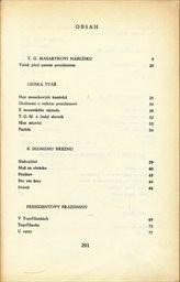 Čtení o T. G. Masarykovi