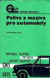 Paliva a maziva pro automobily