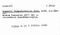 Scenarii čechoslovackogo kino