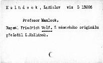Profesor Mamlock