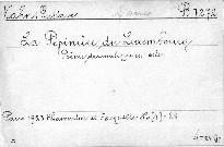 La Pépiniere du Luxembourg