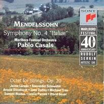 Symfonie, č. 4, op. 90, A dur, Italská; Oktety, smyčcové nástroje, op. 20, Es dur