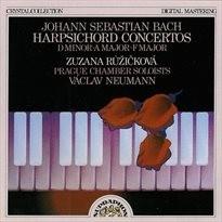 Harpsichord concertos in D minor, A major, F major
