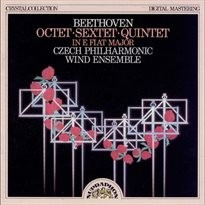 Oktety, dechové nástroje, op. 103, Es dur; Sextety, dechové nástroje, op. 71, Es dur; Kvintety, klavír, dechové nástroje, op. 16, Es dur