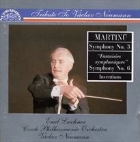 Invence, orchestr, H. 234; Symfonie, č. 3, H. 299; Symfonie, č. 6, H. 343, Fantaisies symphoniques