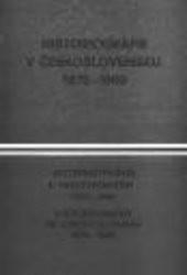 Historiografie v Československu 1970-1980