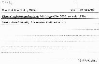 Mineralogicko-geologická bibliografie ČSSR za rok