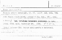 Česká bibliografie                         (Sv. 17)