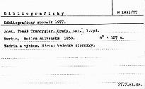 Bibliografický zborník 1977