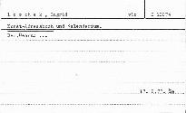 Kunst-Adressbuch und Kalendarium