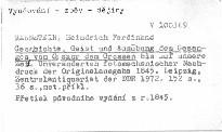 Geschichte, Geist und Ausübung des Gesanges von Gregor dem Grossen bis auf unsere Zeit