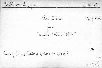 Trio D dur für Pianoforte, Violine u. Violoncell, op. 70, No. 1