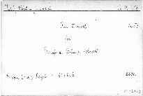 Trio d moll für Pianoforte, Violine und Violoncell