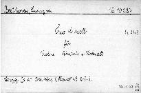 Trio c moll für Violine, Bratsche und Violoncell, Op. 9 No. 3