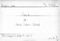 Trio No. 6 für Klavier, Violine und Violoncell