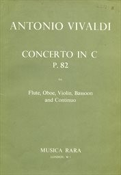 Concerto in C, P. 82,  for flute, oboe, violin, bassoon and continuo