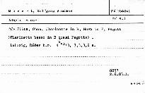 Adagio B dur für Flöte, Oboe, Clarinette in B, Horn in F, Fagott, (Clarinetto basso in B quasi Fagotto), KV 411