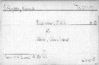 Rhapsodie D dur für Klavier,Violine und Violoncell