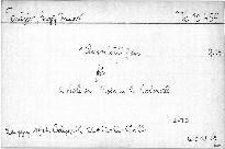 1. Quintett G dur für 2 Violonen, Viola und 2 Violoncell