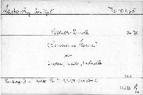 Sextuor D moll pour 2 violons,2 altos,2 violoncelles, op. 70
