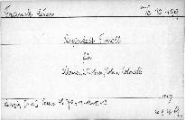Quintett f - Moll für Klavier, 2 Violinen, Viola