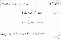 3. Quartett G dur für 2 Violinen, Viola u. Violoncell, K. 156