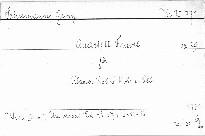 Quartett f moll für Klavier,Violine,Viola und Cell