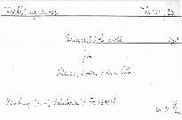 Quartett c moll für Klavier, Violine, Violu u. Cello, op. 1