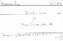 Quintett A dur für Klavier,2 Violinen,Viola und Ce