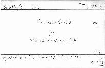 Quintett c moll für Klavier,2 Violinen,Viola und C