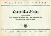 Duette alter Meister