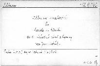 Národní písně československé