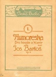 Humoreska pro housle a klavír, op. 9                         (I.)