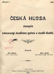 Česká hudba                         (Ročník 2.)