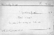 1. Symphonie G moll, op. 13
