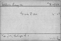 Sonate D dur, Op. 1 No. 3