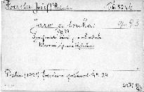 Jaro a touha, op. 93