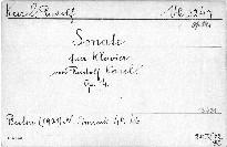 Sonate für Klavier, Op. 14