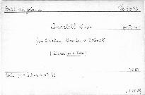 No. 1 Quartett c moll für 2 Violinen, Bratsche und