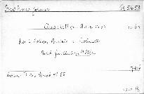 Quartett in B dur No. 3, op. 67, für 2 Violinen, Bratsche u. Violoncell