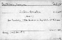 Violin-Sonaten, Op. 12 No. 1-3