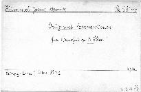 Original-Compositionen für Pianoforte zu 4 Handen