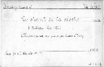 Le chant de la cloche                         (3. tableau)